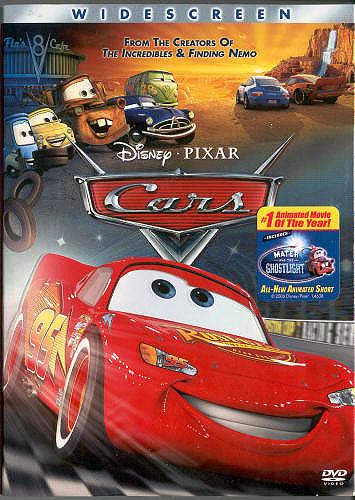 cars dvd easter eggs