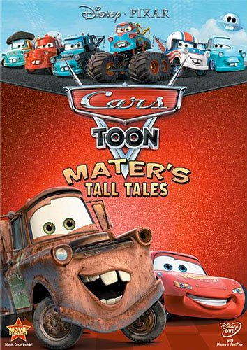 Cars Toon: Mater's Tall Tales Comes To Blu-Ray & DVD