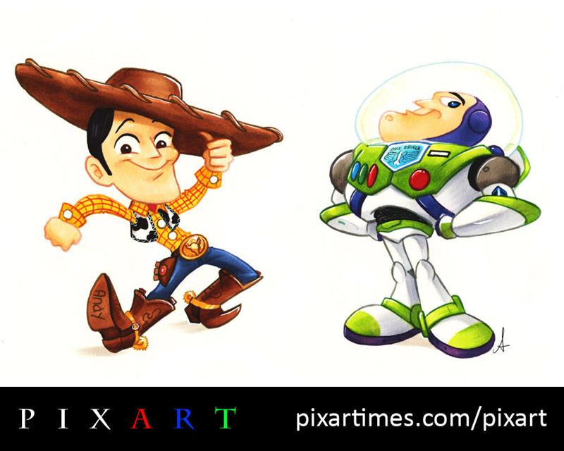 New Toy Story Pixart Double Dose Buzz Woody Bonnie Friends