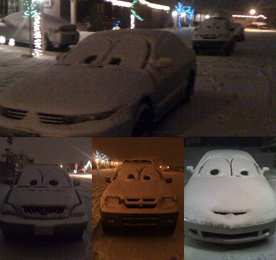 Picture Of The Day: Snow CARS