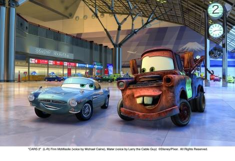 Total Film Debuts Exclusive Cars 2 Still – Finn McMissile & Mater