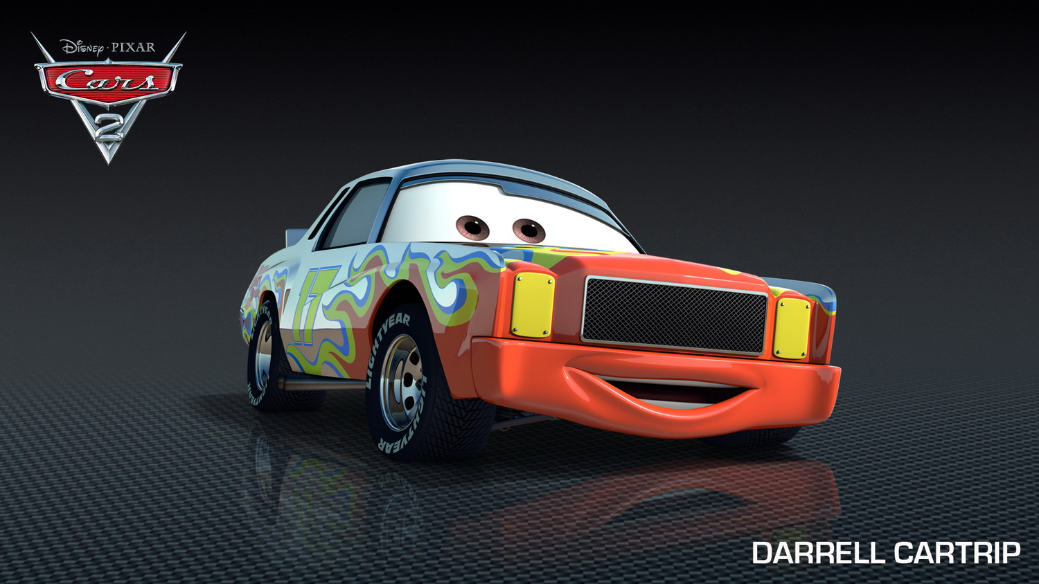 Jeff Gordon & Darrell Waltrip Join the Cast of Cars 2