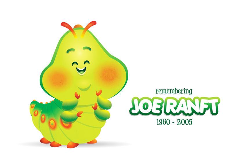 Joe Ranft as Heimlich by Jerrod Maruyama