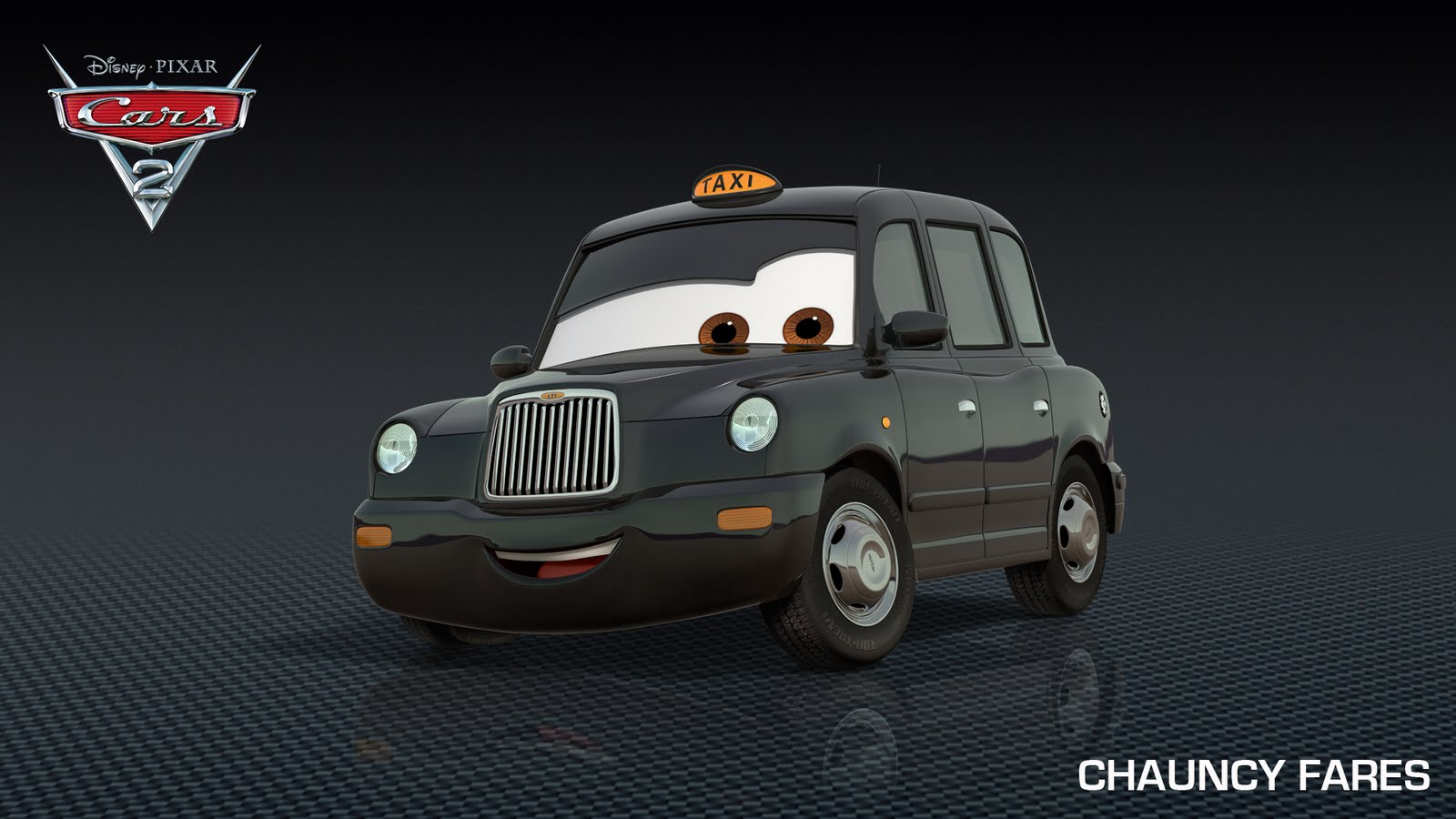 Disney Cars 2 Chauncy Fares