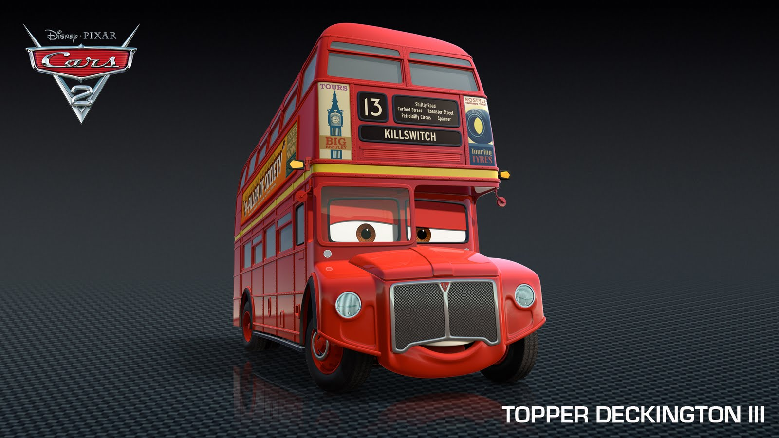 Characters In Cars: More British Characters Drive Into Cars 2