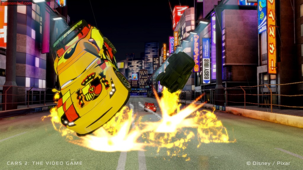 Screenshot from Cars 2: The Video Game