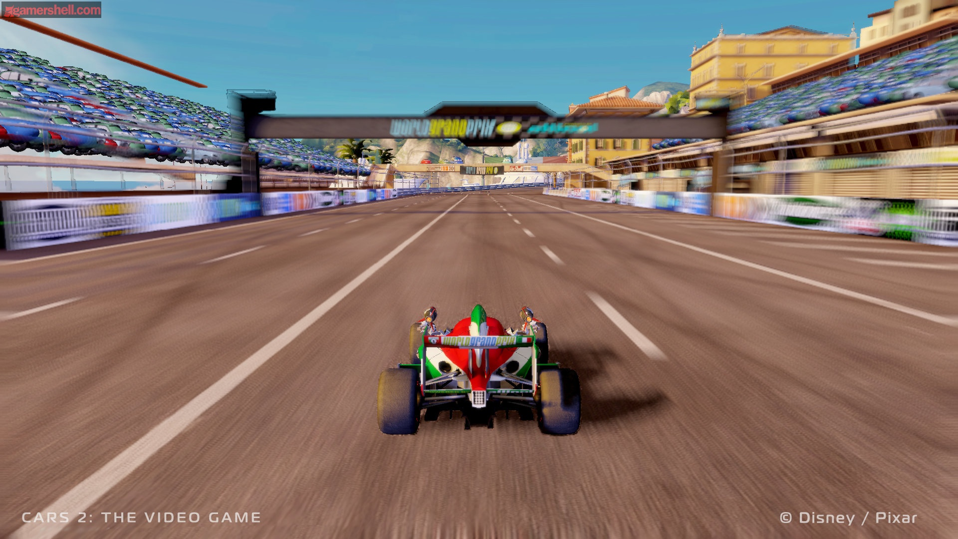Cars 2 Video Game Screenshot 2