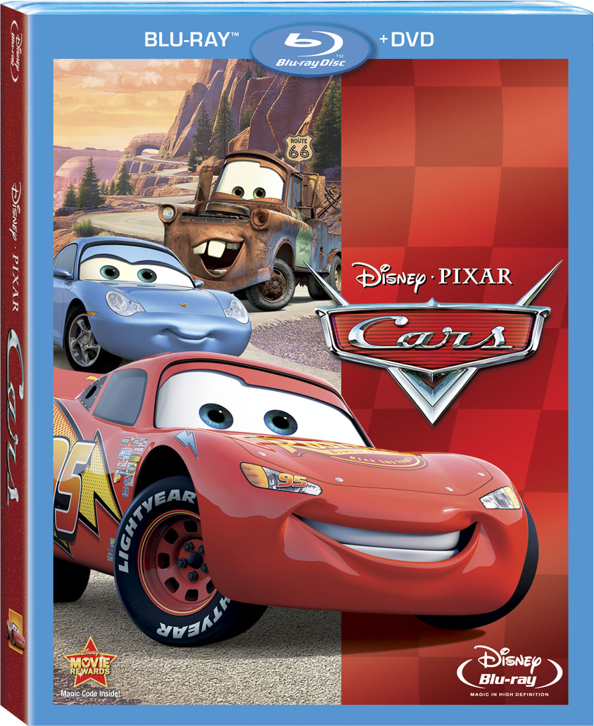 Cars Blu-ray Combo Pack