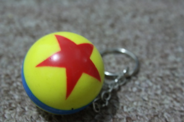 Keychain of Luxo, Jr.'s Ball