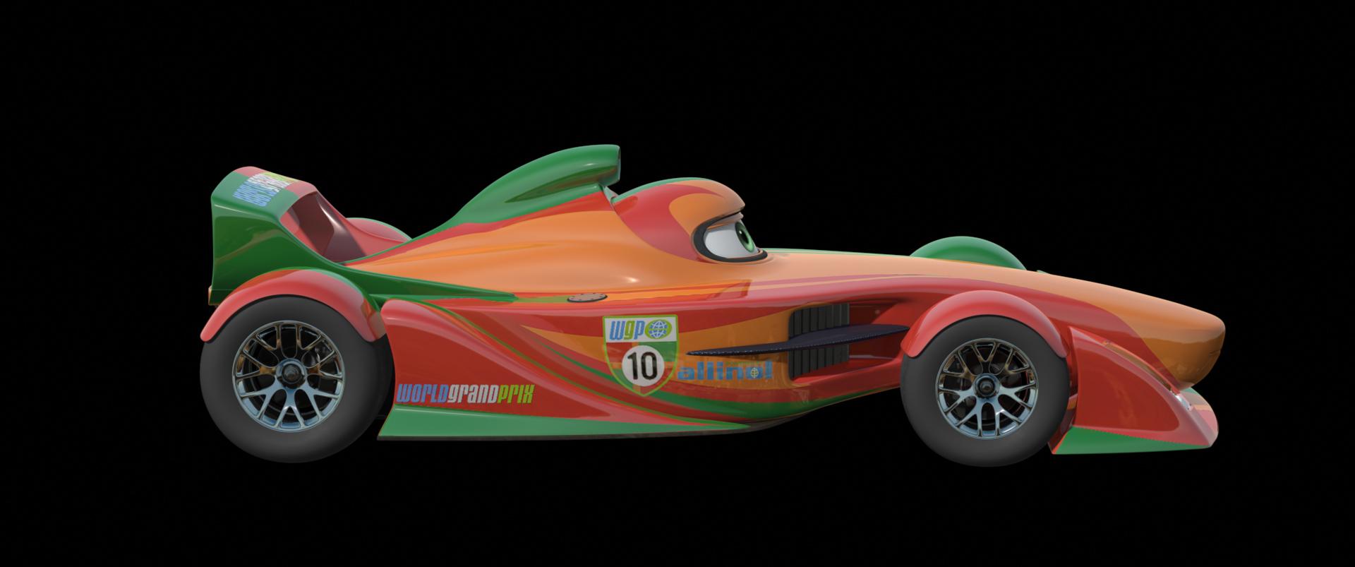 Cars 2 International Racers Line-up