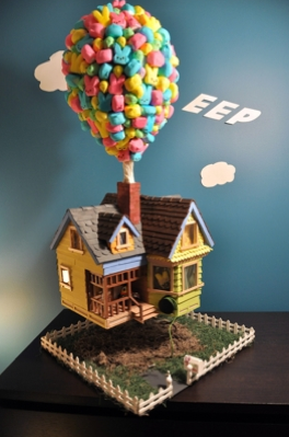 'Up' House Crowned Winner in Peeps Diorama Contest