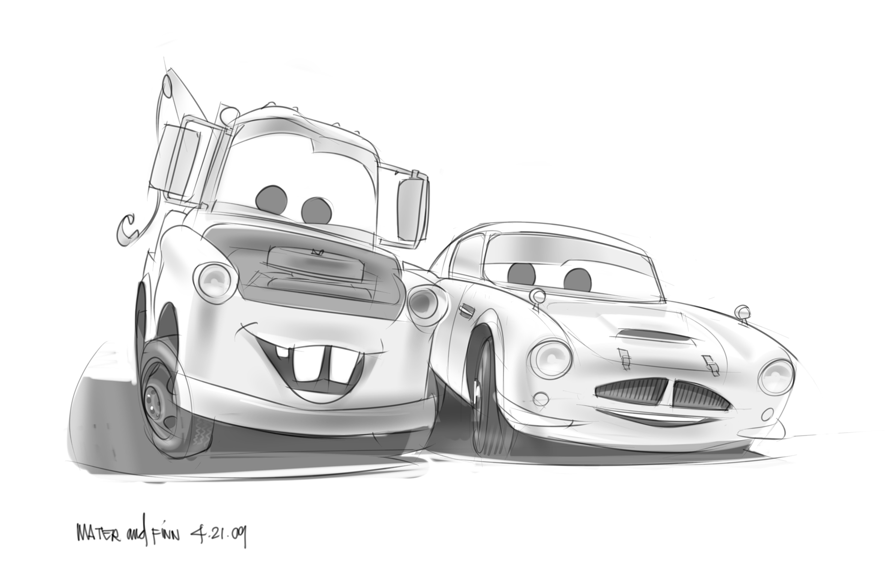 cars 2 character design finn mcmissile