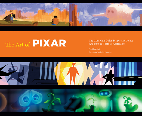 Chronicle Officially Announces New Pixar Color Script Art Book