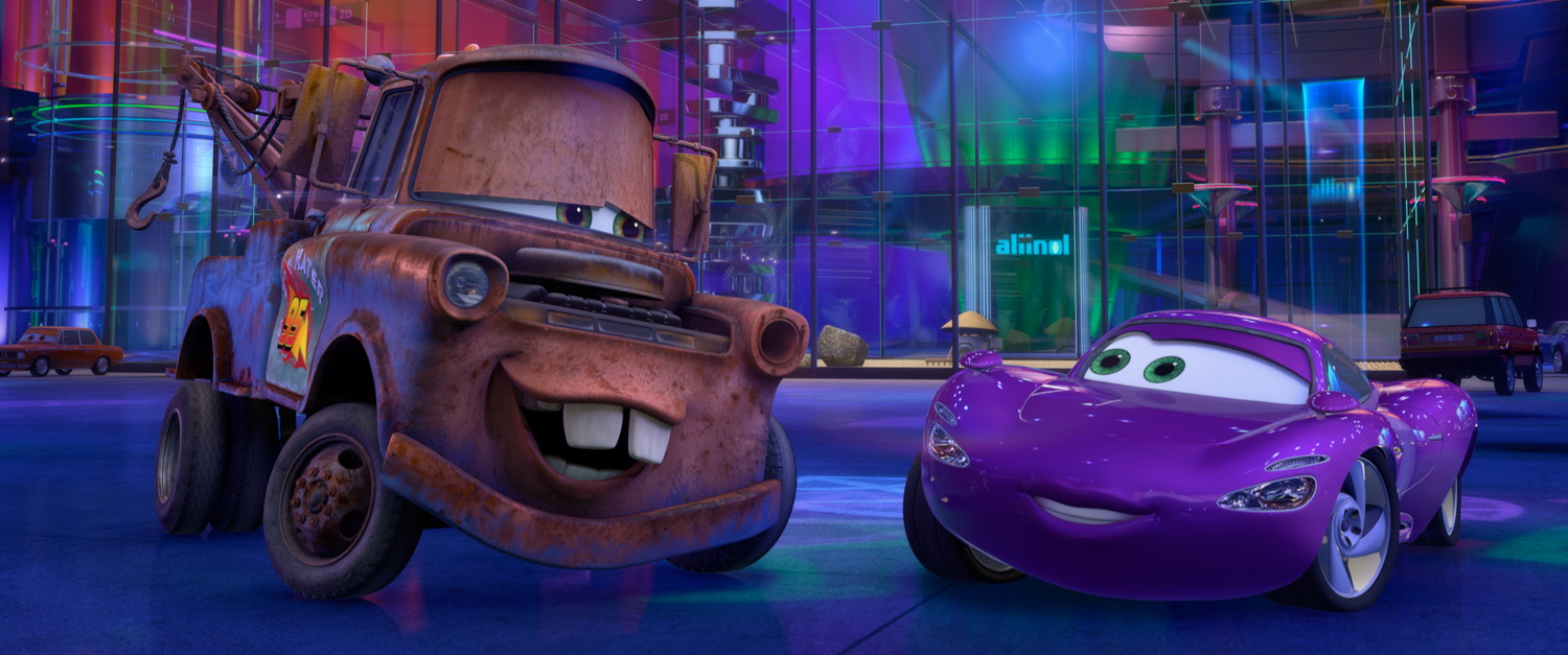 New Cars 2 Still Features Holley and Mater