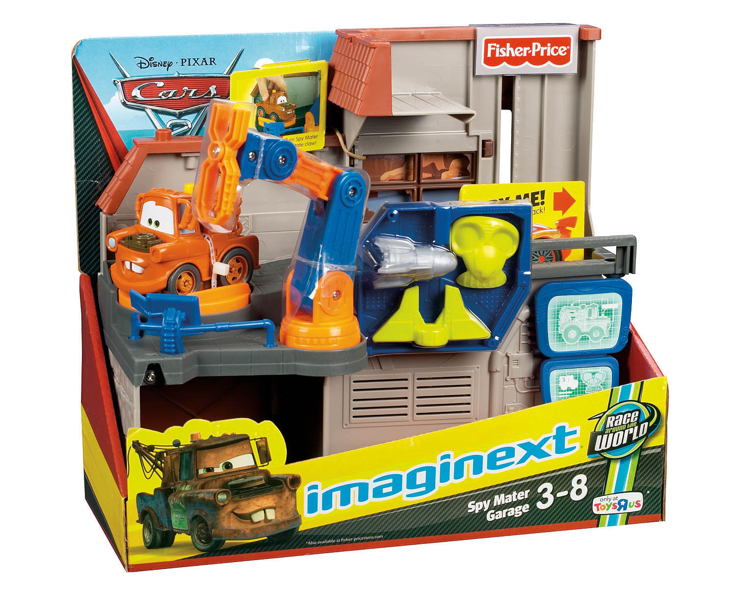 Toys R Us Revs Up For Cars 2 With Exclusives And