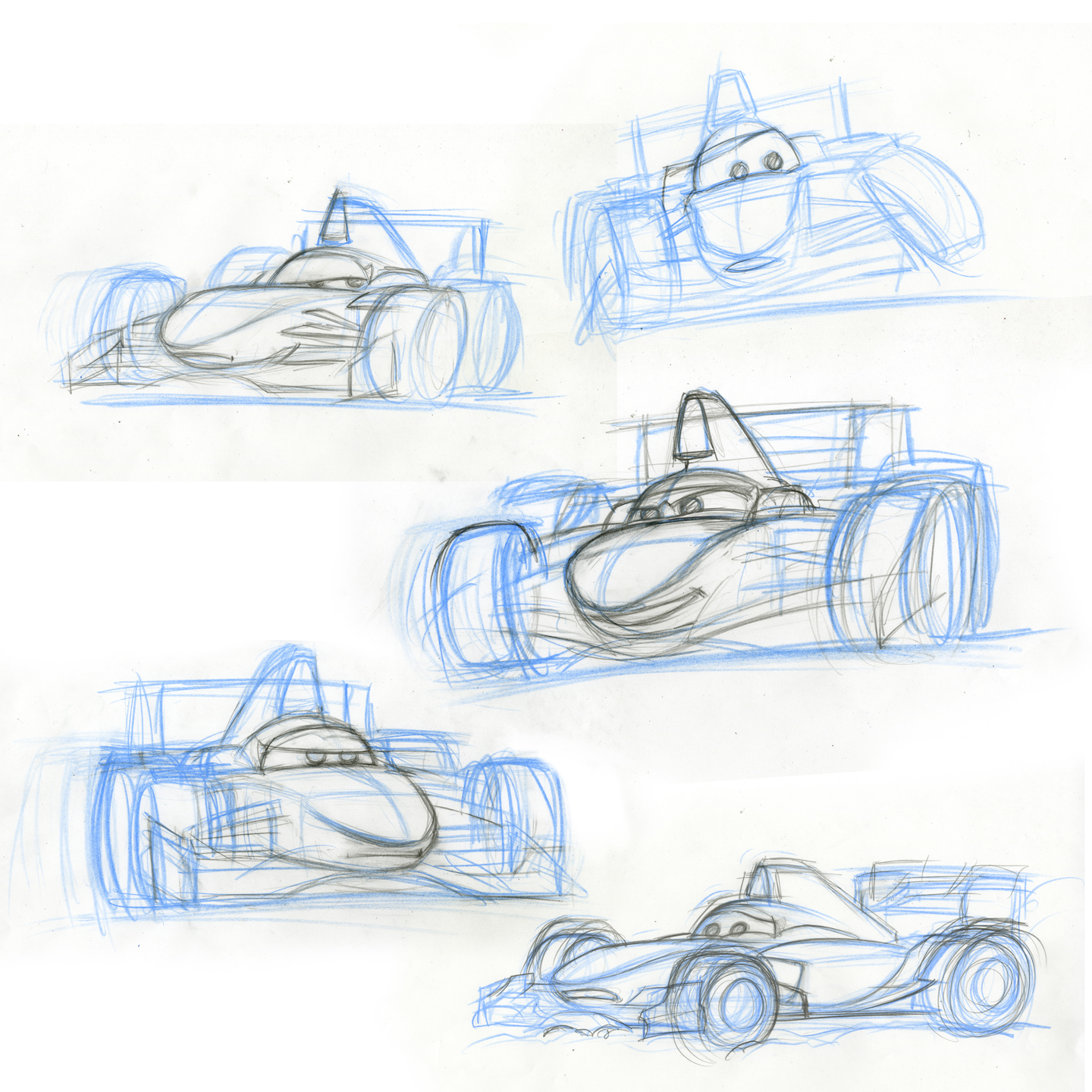 Cars 2 Character Design: Francesco Bernoulli