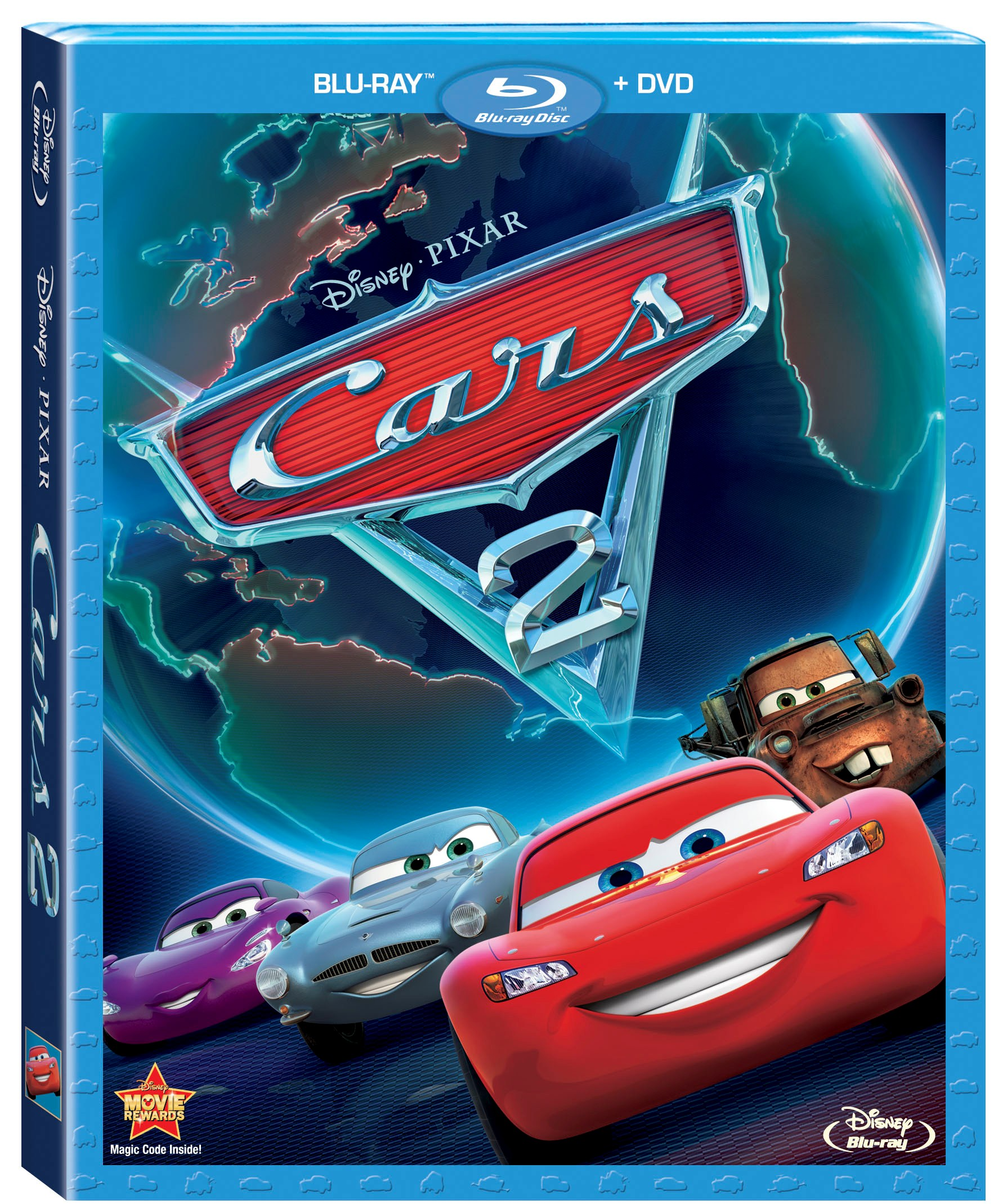 cars 2 coming home to blu ray dvd on november 1. Black Bedroom Furniture Sets. Home Design Ideas