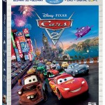 Cars 2 Five Disc Blu-ray Combo With 3D