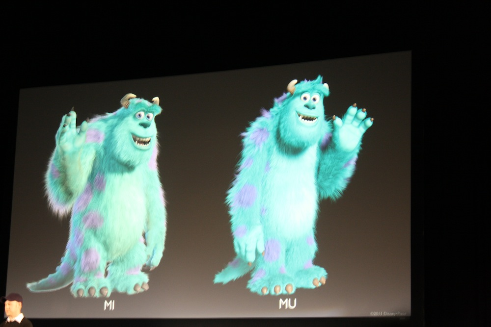 Differences Between Mike Sully And Randall From Monsters Inc: Disney Digital Forum > Monsters University