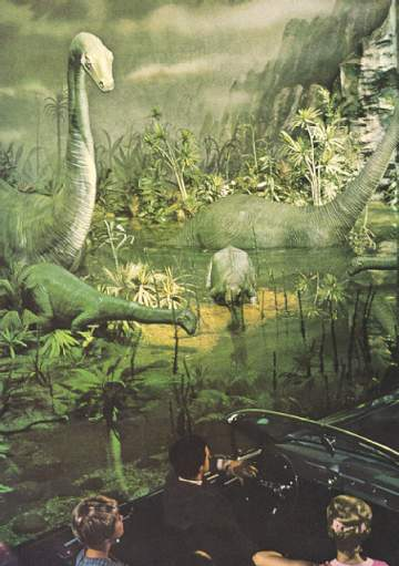 World's Fair Dinosaur Animatronics