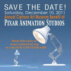 Pixar Cartoon Art Museum Benefit 2011