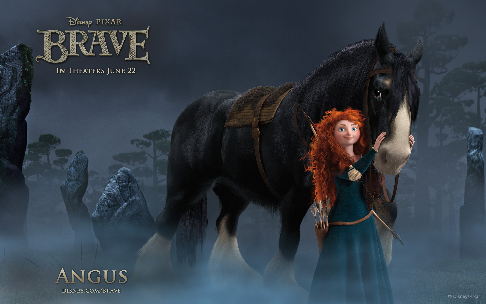 Brave - Angus Wallpaper