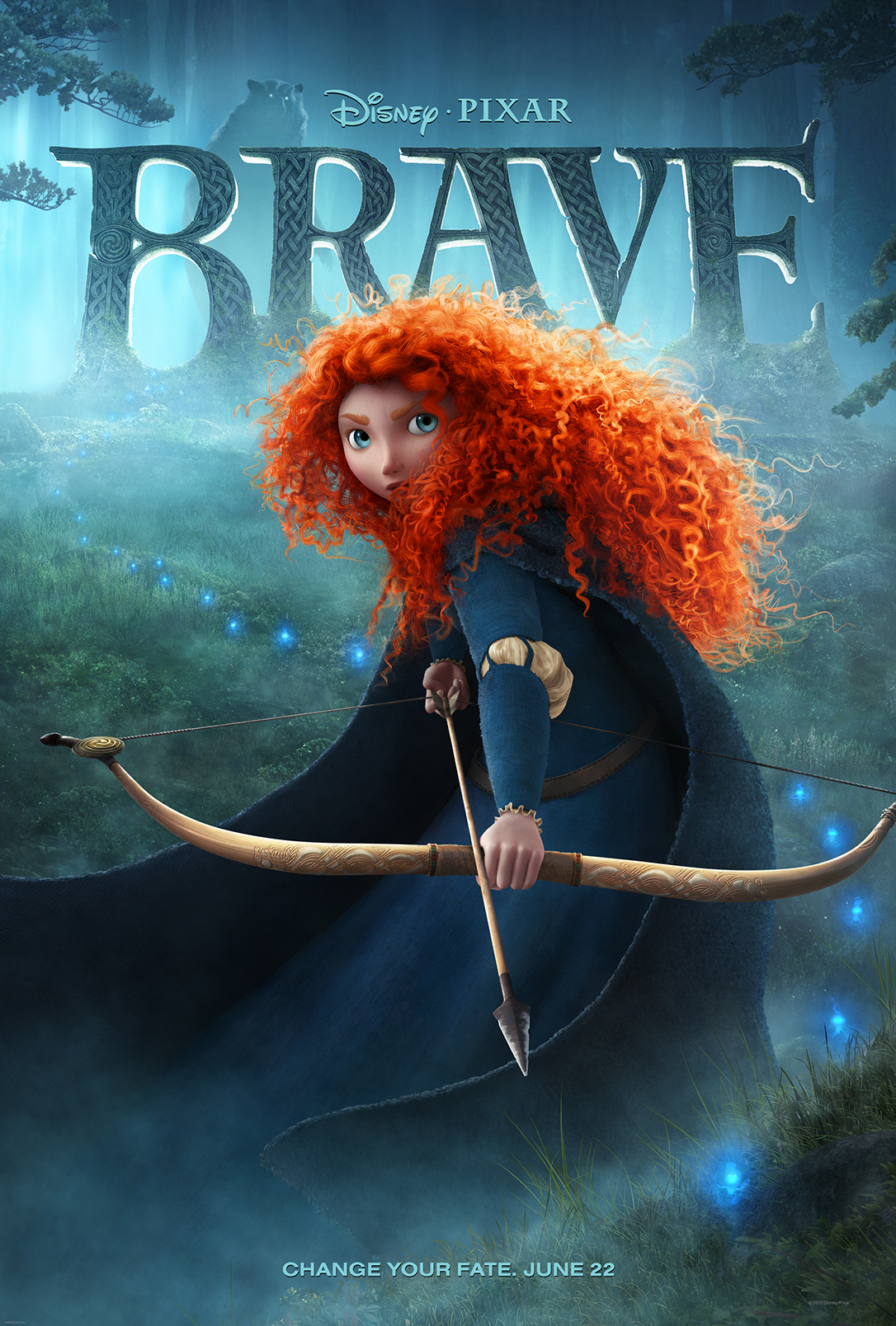 WATCH: 'Brave' Makes Splash At Oscars With New TV Spot