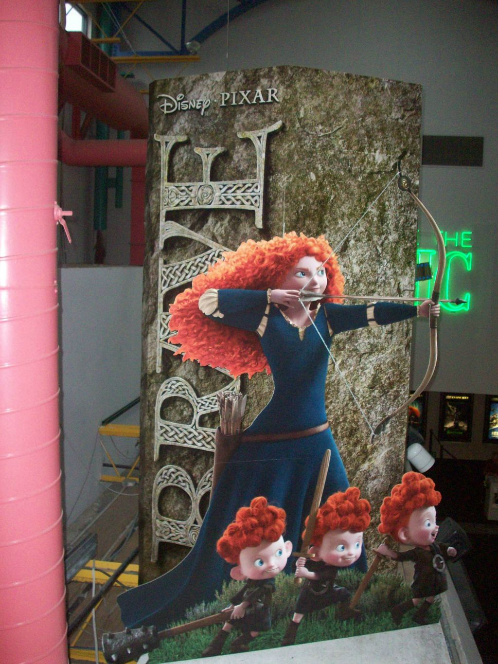Brave Theater Standee - 1