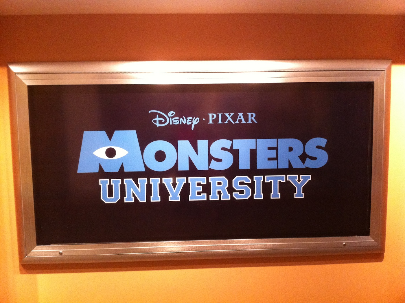 Monsters University at Disney World