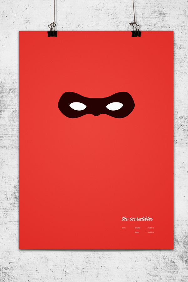 Pixar Poster by Wonchan Lee - Incredibles