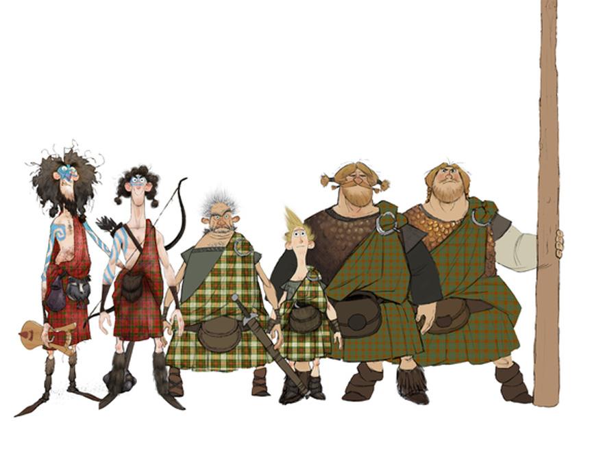Pixar Character Design Book : Closer look at more stunning 'brave concept art