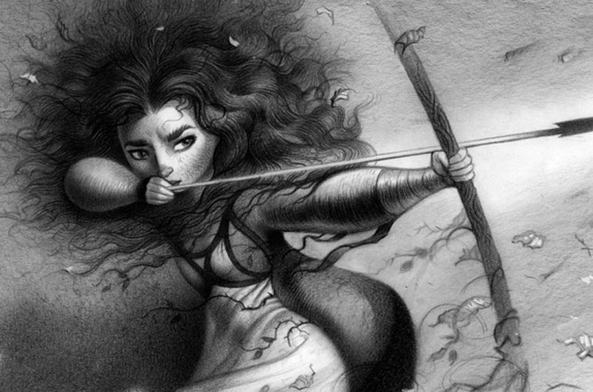 Closer Look At More Stunning 'Brave' Concept Art