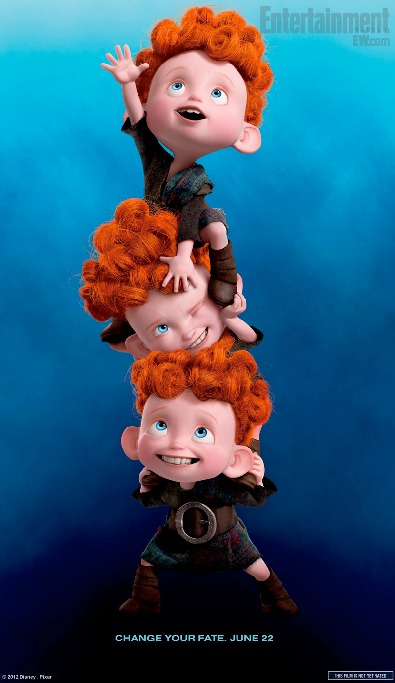 Watch: 'Brave' Featurette Profiles Merida's Triplet Brothers