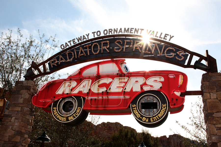 Cars Land - Radiator Springs Marquee