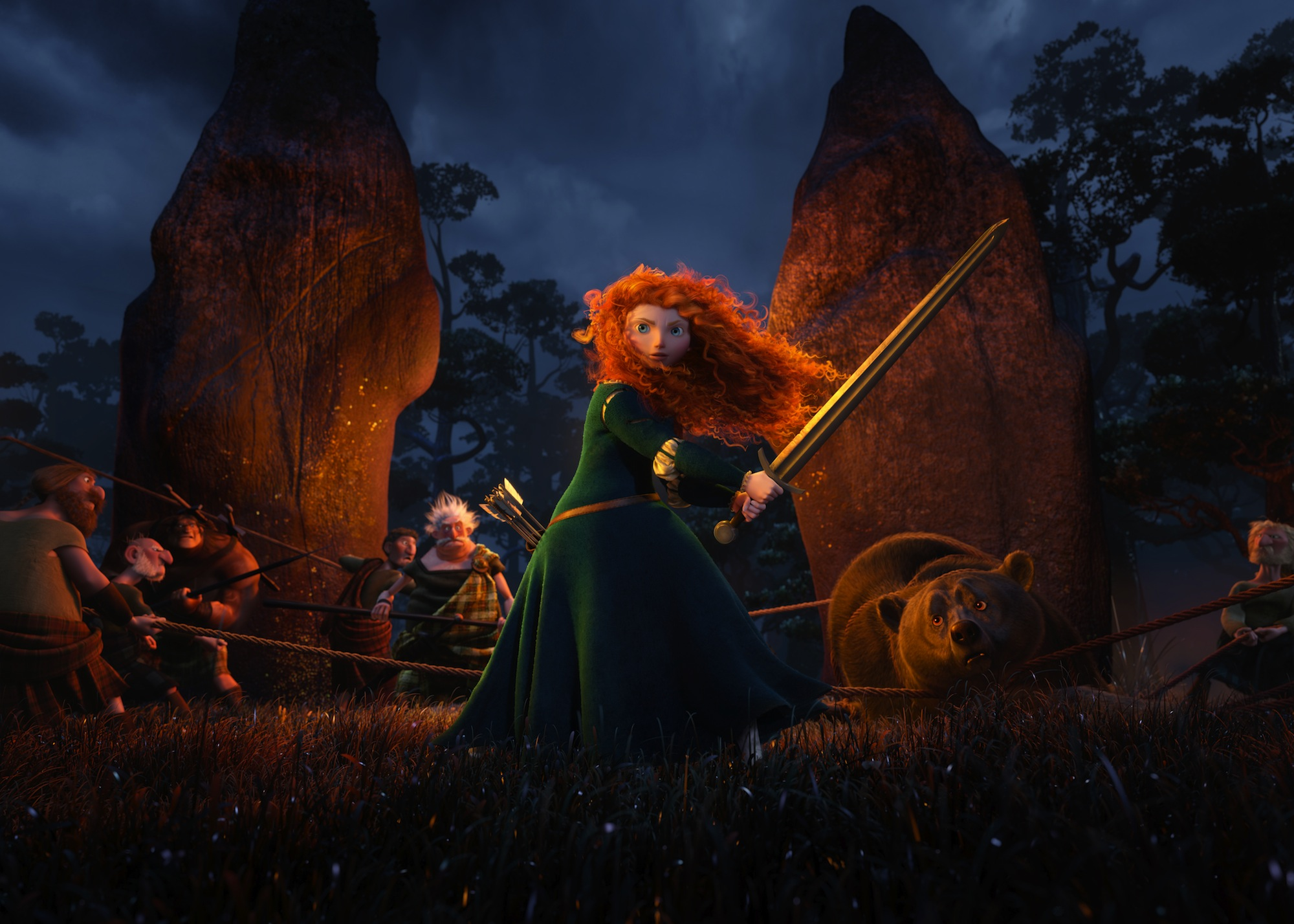 It is an image of Impertinent Pictures of Merida From Brave