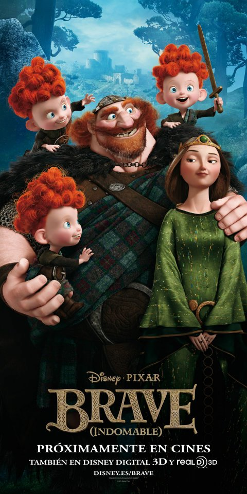 Watch: New 'Brave' Clip and Featurette Give Us More On Merida's Family