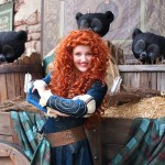 Merida Meet and Greet at Magic Kingdom