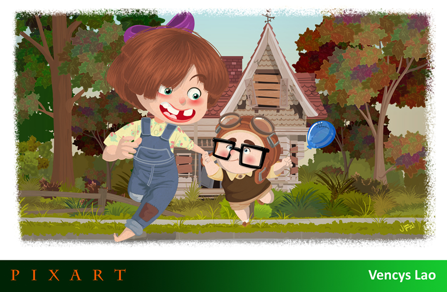 PixArt Salutes The Pixar Heroine