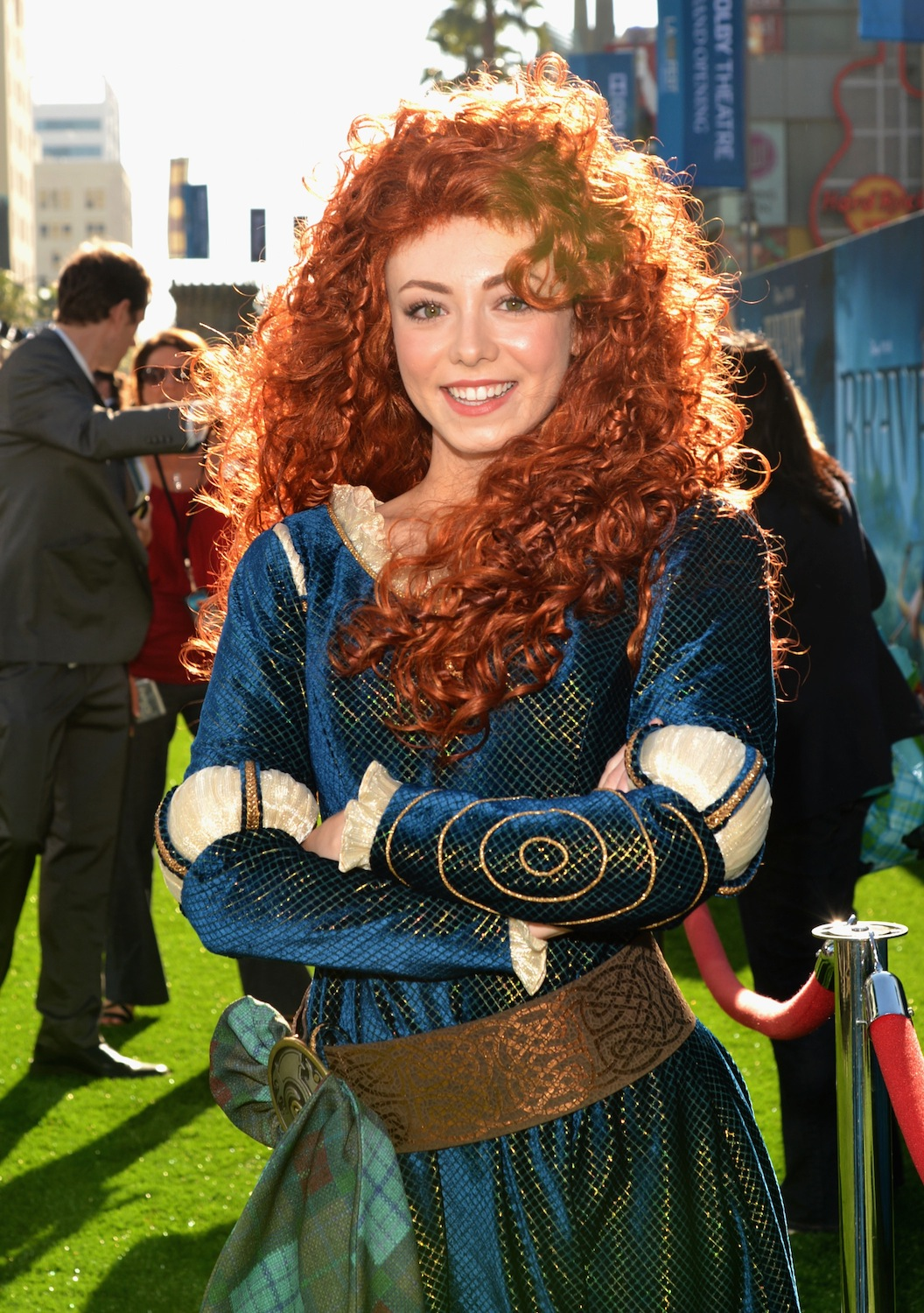 This is a photo of Obsessed Pictures of Merida From Brave