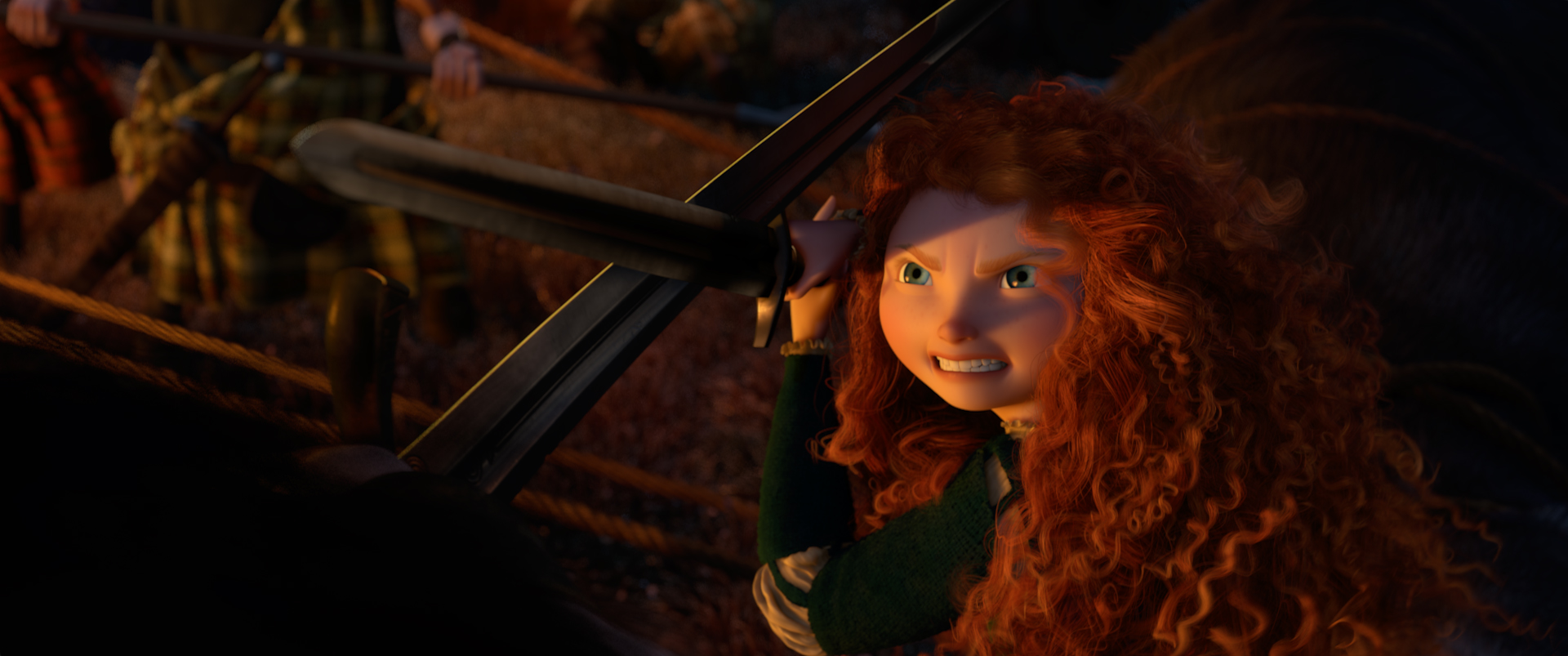 15 New Hi-Res Images From 'Brave' Released