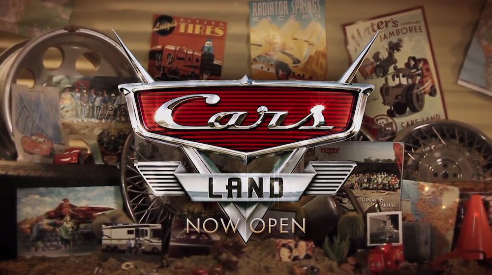 Cars Land - Now Open