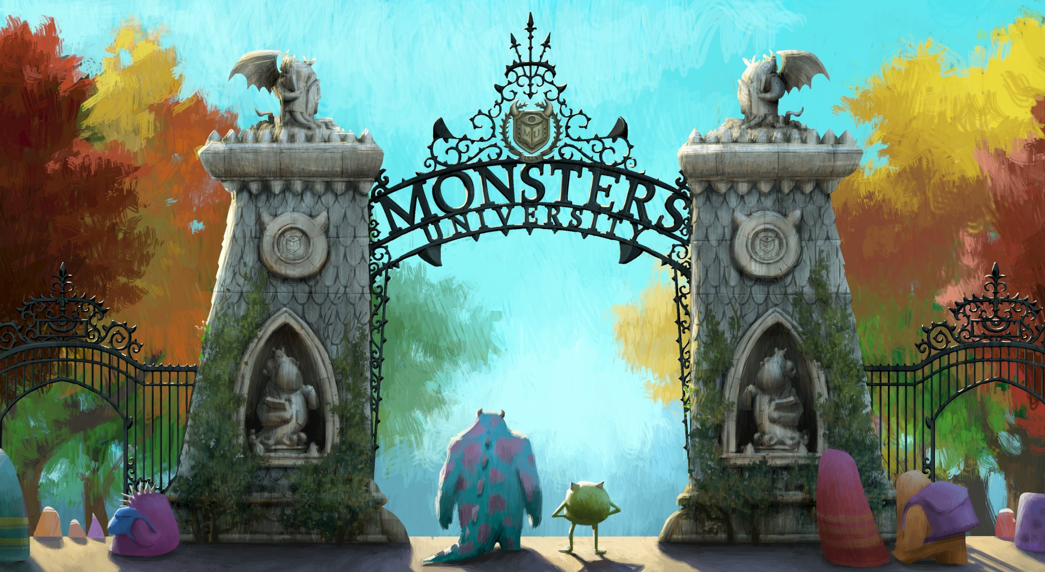 Monsters University - Gates