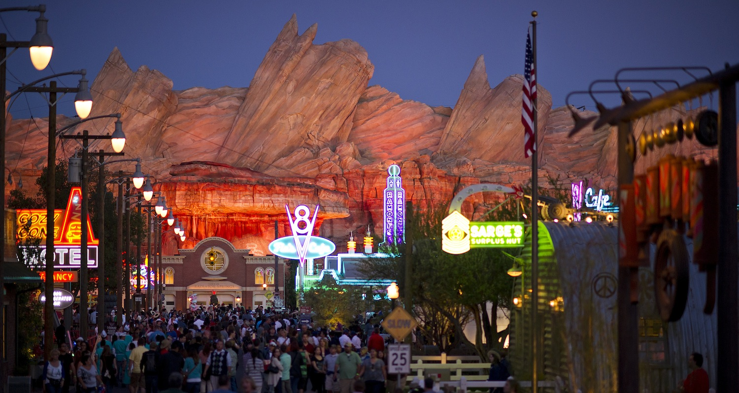 Cars Land in Disney California Adventure