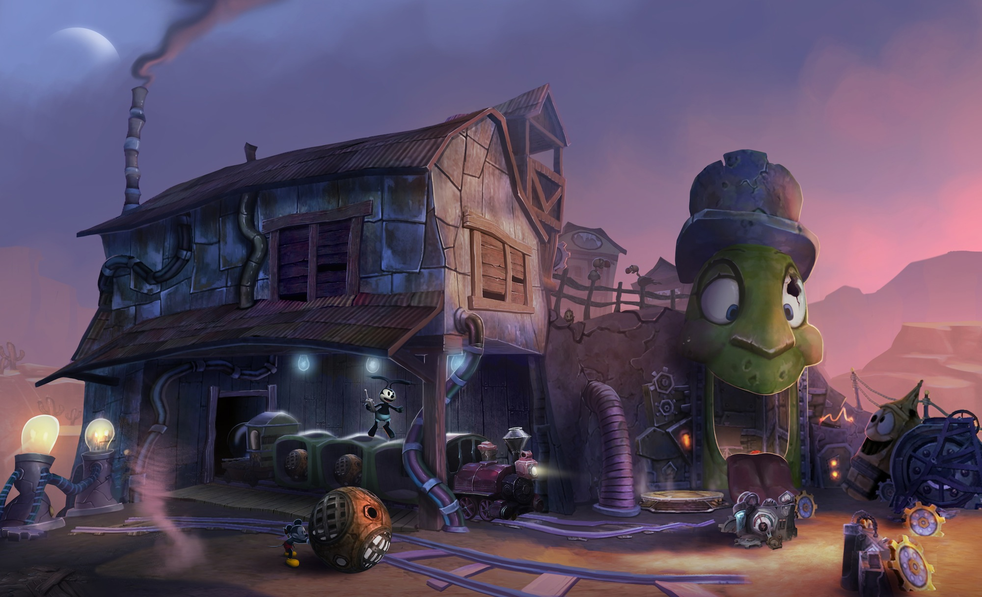 Watch: Disney's 'Epic Mickey 2' Characters Featurette