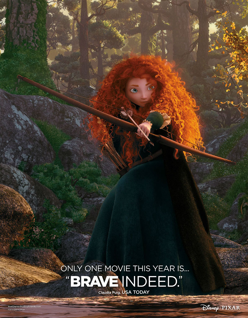 First 'Brave' Awards Ad Unveiled