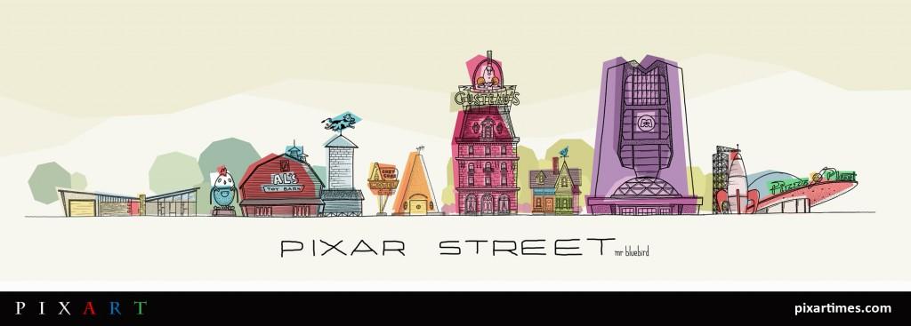 Pixar Street - Mario Graciotti