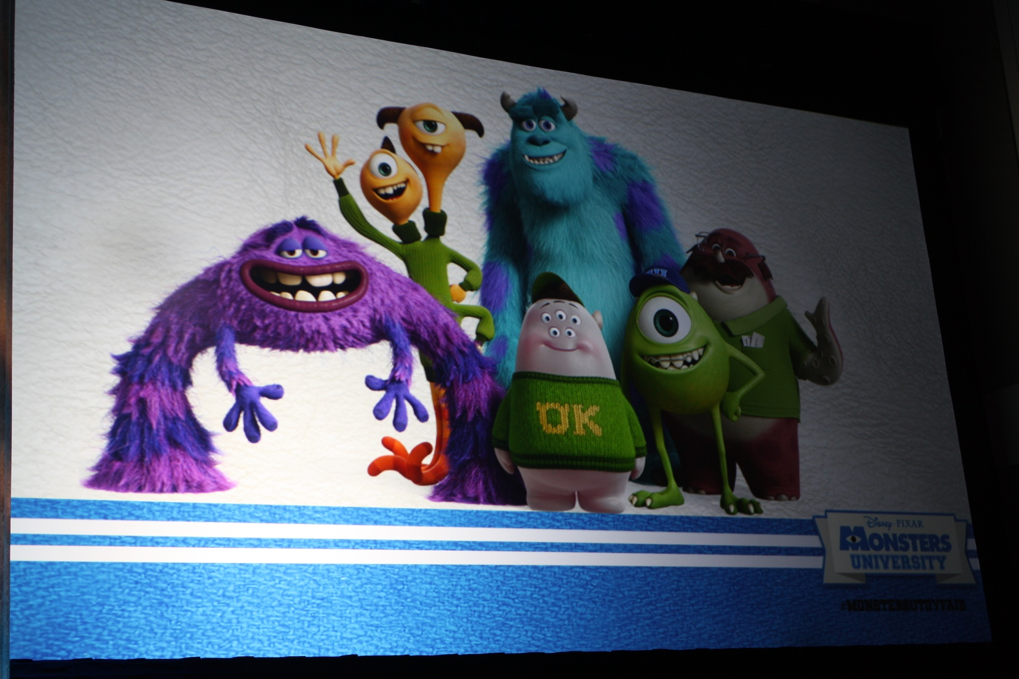 Monsters University Characters - Photo by Samad Rizvi