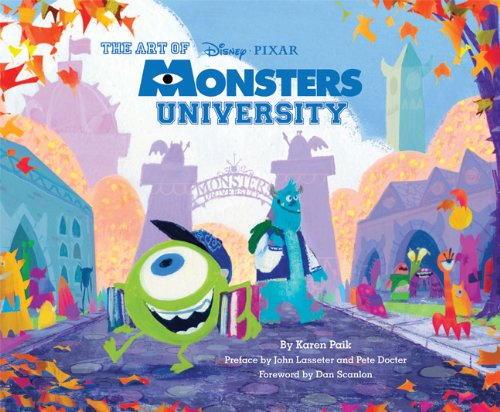 'Art of Monsters University' Gets A New Cover Featuring Stunning Concept Art