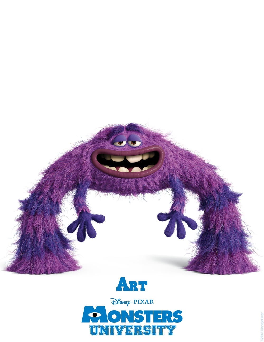 Monsters University - Art