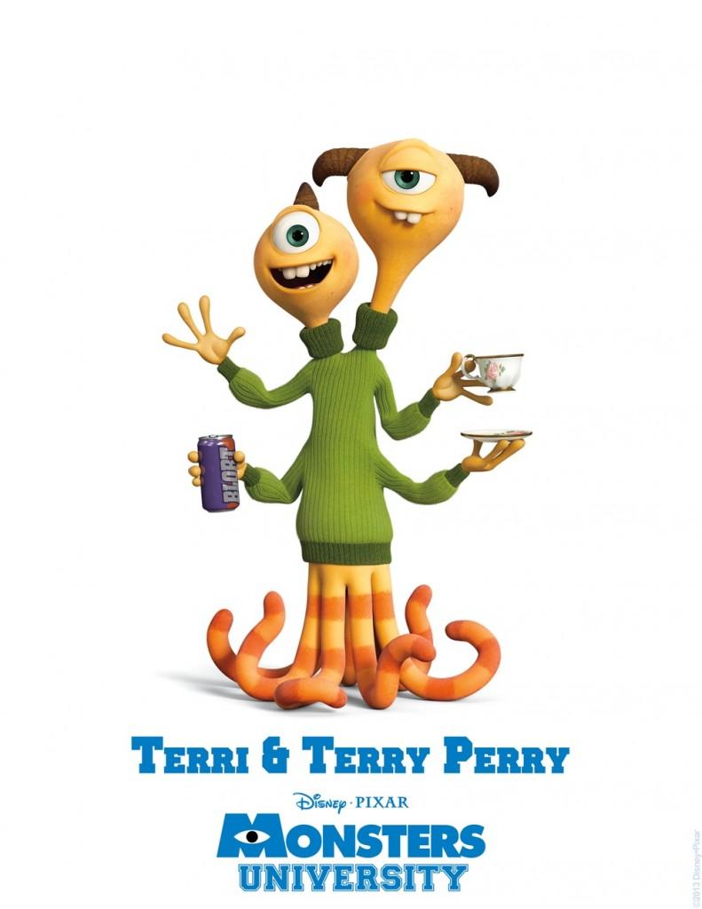 Monsters University - Terri & Terry